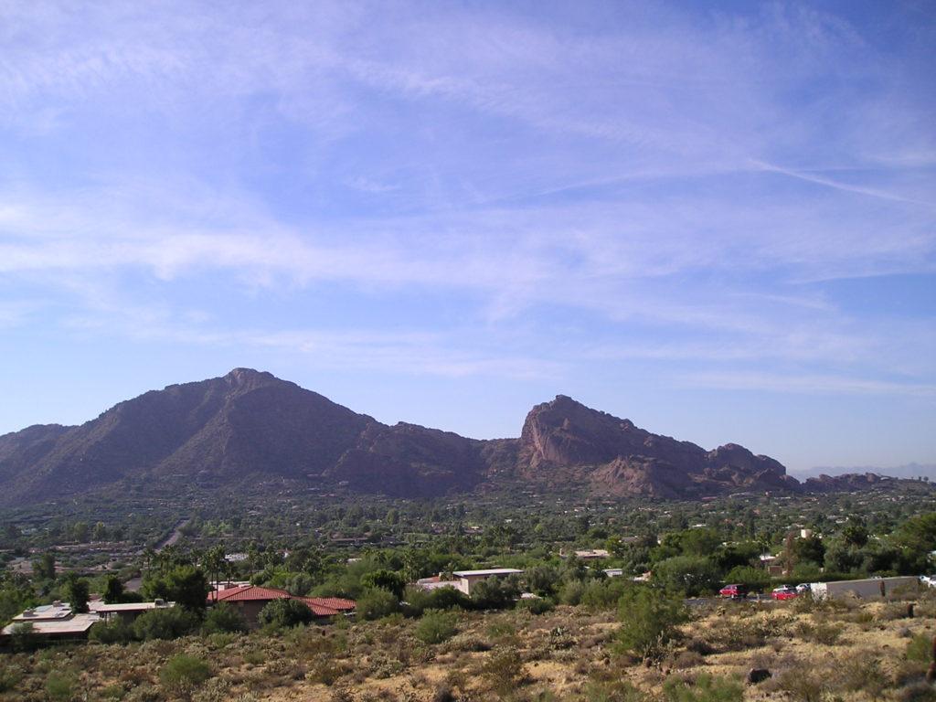 Camelback Mountain, Scottsdale, Arizona, USA