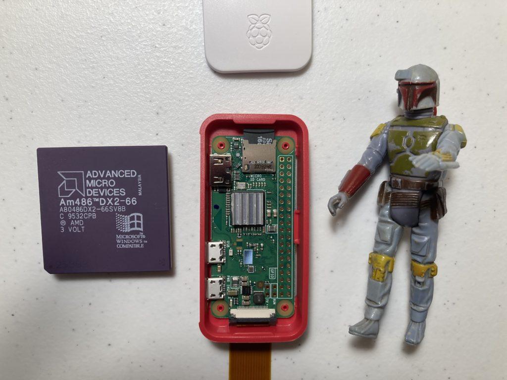 Raspberry Pi Zero W Size Comparison